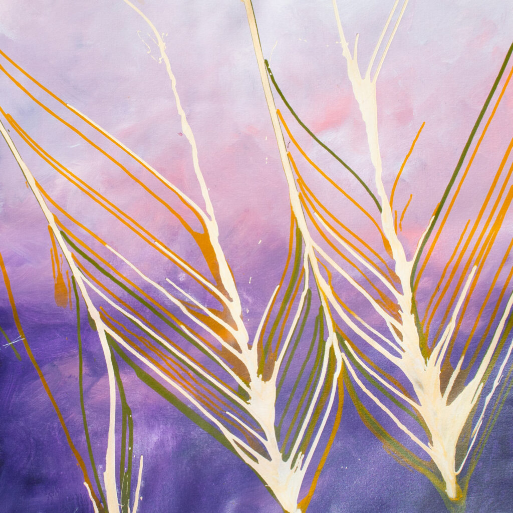 australian artwork abstract grains country