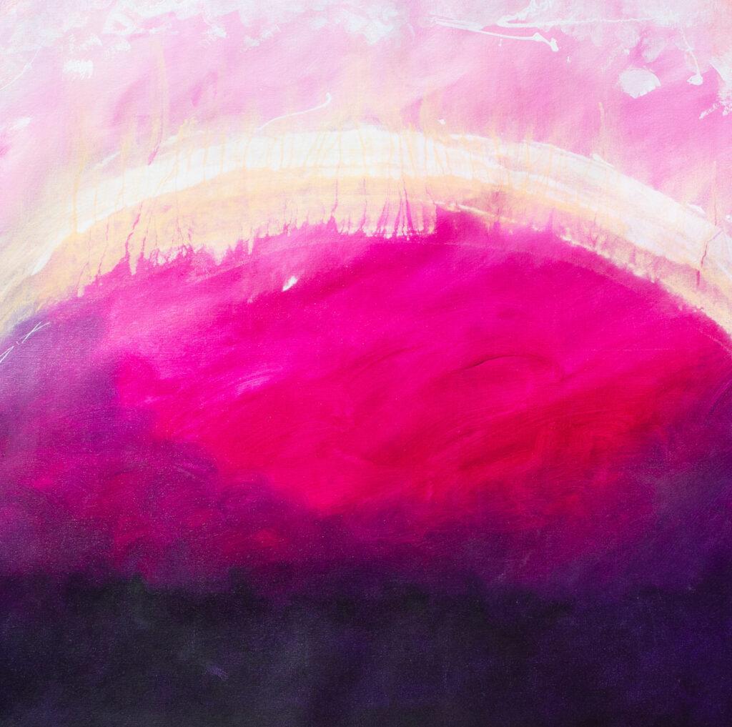 point purple magenta abstract art