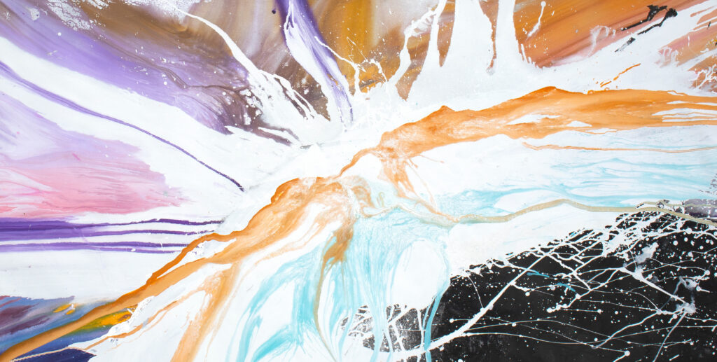 Abstract artwork australian sold Nepal