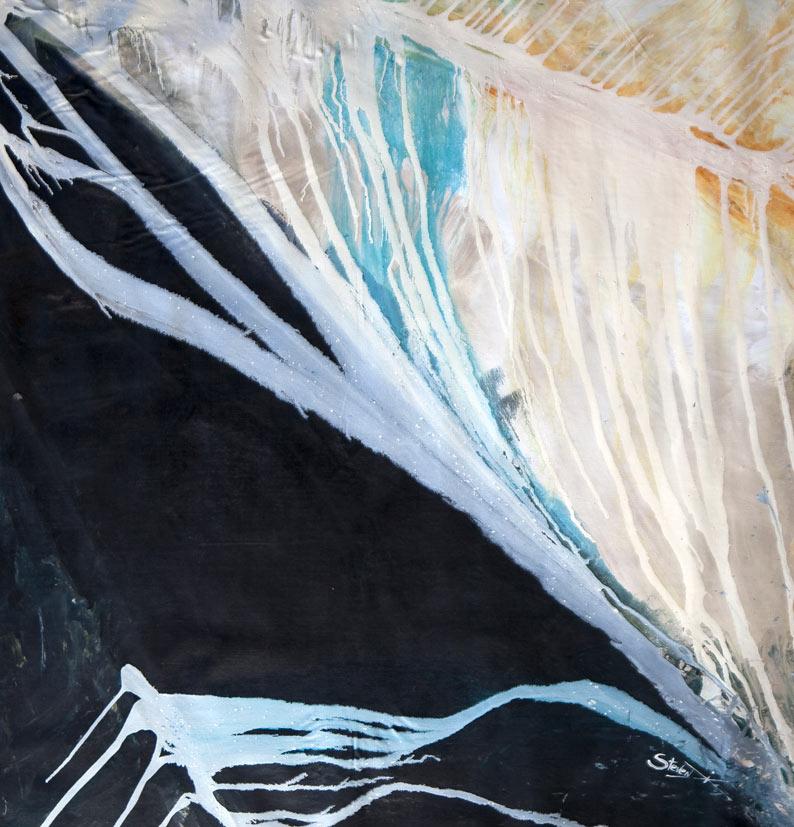abstract Australian artist