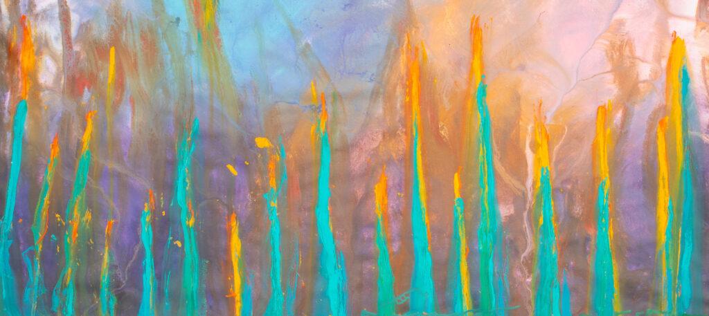abstract underwater art australia