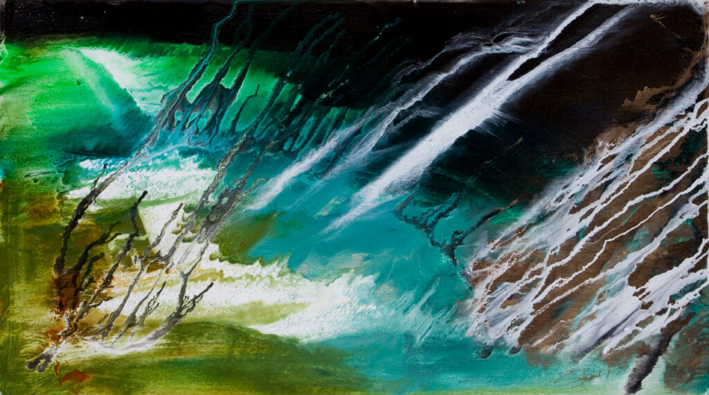 Steven Dix abstract art