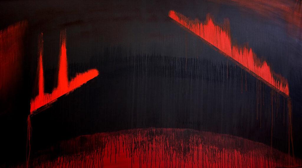 Abstract australian art in TAIWAN