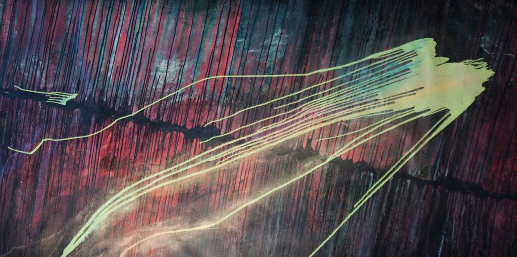 abstract art dark mysterious
